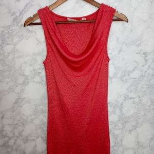 Michael Stars Sleeveless Red Top